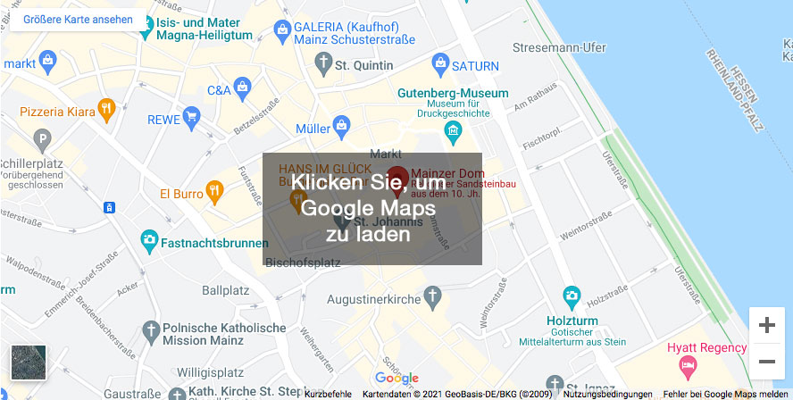 Klicken Sie, um Google Maps zu laden